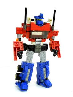 Nearly 5 years ago, I made this guy and it turned out to be quite a hit. Click below for the mocpages.com gallery for Optimus Prime:    htt...