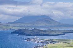 Este es el año de la Wild Atlantic Way, ruta automovilística de 2500 km que recorre todos los rincones de la costa occidental, desde Donegal a Cork.  Un plano de la isla de Valentia. Fotografía de Jorg Greuel / Getty Images.