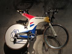 Miguel Indurain's time trial bike