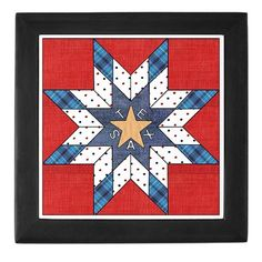 texas star quilt patterns | Texas Star Quilt Pattern Jewelry Box by texas4you