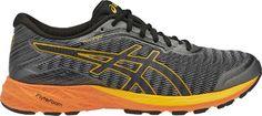 ASICS Men's DynaFlyte Road-Running Shoes Carbon/Black 12.5
