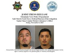 """On Thursday, November 7, 2013, a three week murder trial ended with the conviction of a member of a criminal street gang, """"Varrio Mountain View,"""" responsible for the murder of 17-year-old Alejando """"Alex"""" Fernandez in 2004. http://mountainviewpoliceblog.com/2013/11/09/joint-press-release-verdict-made-on-2004-cold-case-homicide/"""