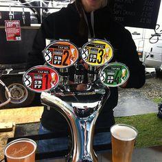 Great to see our #beer on tap #sbff15 Cranachan Berliner weisse