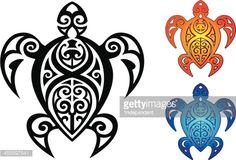 polynesian art sea life - Google Search
