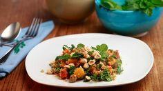 Arabella Forge's quinoa salad with pumpkin and hazelnuts.