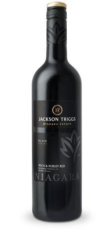 Jackson Triggs 2009 Black Series Rich & Robust Red (shiraz-cabernet)