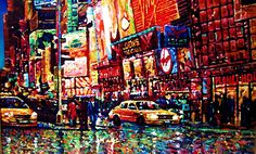 CARLOS PFEIFFER ARTE: new york paintings  CARLOS PFEIFFER PFEIFFER TIMES...