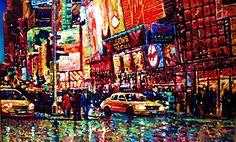 CARLOS PFEIFFER ARTE: new york paintings  CARLOS PFEIFFER PFEIFFER TIMES...