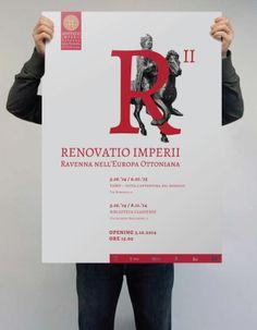 RENOVATIO IMPERII- Poster design #1 by Nicole Giuliattini, via Behance