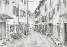 Historical Street by Rievil