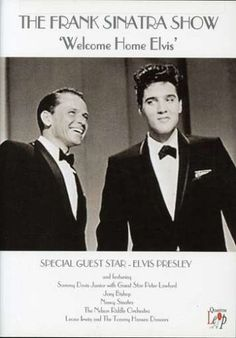 """Frank Sinatra's 'Welcome Home Party for Elvis'(1960)---2 of entertainment history's biggest stars were united in this special 1960 television broadcast. Signaling the end of a string of shows hosted by Frank Sinatra, ABC pulled out all the stops when it booked the king of rock 'n' roll, Elvis Presley, to be the final guest. Presley's versions of """"Fame and Fortune"""" and """"Stuck on You"""" are terrific, but the duets between Sinatra and Presley, """"Witchcraft"""" and """"Love Me Tender,"""" truly steal the…"""