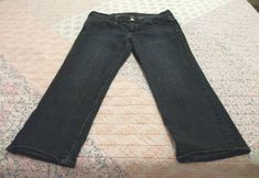 25cd236a955f8 WOMENS CROP JEANS SIZE 8 LUCKY BRAND SWEET AND LOW  fashion  clothing  shoes