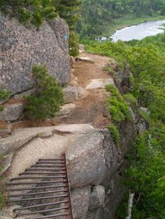 great hike on the beehive trail in acadia national park