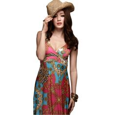 Amazon.com: Hee Grand Mix Color Matching Zebra Royal Totem Dresses: Clothing