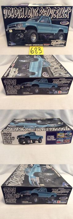 Hot Rod 2582: Aoshima Toyota Longbed Truck 1 24 Scale Model Kit Pickup Bluefin Open, New! #683 -> BUY IT NOW ONLY: $100 on eBay!