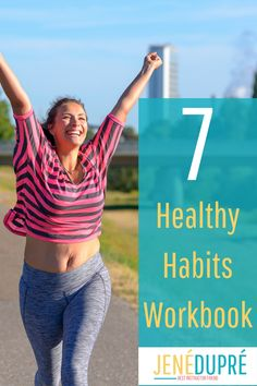Here are the 7 healthy habits that WILL create a health and fitness lifestyle you can enjoy! Ever use health habits and got nowhere? Frustrating! Well this workbook breaks down each category with information and fits it seamlessly into your daily life! Health Goals, Health Motivation, Health And Wellness, Personal Fitness, Physical Fitness, Physical Exercise, Fitness Nutrition, Fitness Tips, Positive Body Image