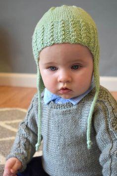 Free Pattern Friday - Trailhopper Hat knit in Wisdom Yarns Mini Saki Baby Hat Knitting Patterns Free, Baby Hats Knitting, Free Knitting, Knitted Hats, Free Pattern, Crochet Hats, Hat Patterns, Crochet Patterns, Kids Knitting