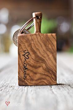 Key ring - cutting board