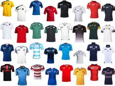 2015 Rugby World Cup kits