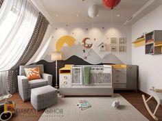 Фото: Дизайн детской комнаты - Квартира в современном стиле с элементами лофта, ЖК «Эдельвейс», 102 кв.м.