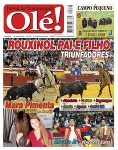 Pátio de Quadrilhas: Capa da Edição Nº 324 do Jornal Taurino Olé!