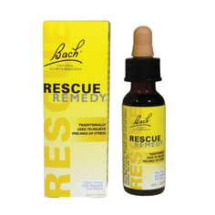 Rescue Remedy - Quick and natural stress relief!!  It really works!