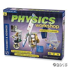 Through constructing and experimenting with model machines, kids will comprehend the fundamental laws of mechanical physics including gravity, force and ...