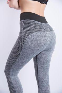 Sexy Cropped Leggings High Waist - free shipping worldwide