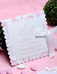 Blush Pink Weddings, Christening, Cards, Baby, Invitations, Crystals, Maps, Baby Humor, Infant