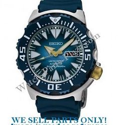 Seiko Seiko SRP455 Watch Parts - Limited Edition Blue Monster