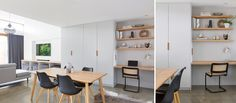 MAROUBRA HOUSE II – THE DESIGNORY Study Nook, Cottage Renovation, Garage Ideas, Coastal Homes, Nooks, Joinery, Built Ins, Wardrobes, Extensions