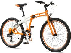 "Citizen Bike folding bike shop | Portable & Folding Bikes | GOTHAM XL Citizen Bike 26"" 7-speed Full-size Folding Bike"