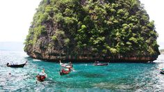 View from Maya Island, Phuket - Thailand (Visited June - Amazingly beautiful. Phuket Thailand, Maya, To Go, June, Island, Spaces, Amazing, Beautiful, Block Island