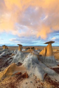 Hoodoos, New Mexico  These rock/sandstone formations are just amazing!