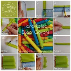 Edible Crayons - CakesDecor