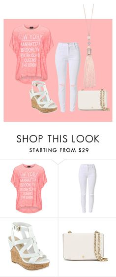 """""""out to coles"""" by funnymomentsxx ❤ liked on Polyvore featuring Replace, GUESS, Tory Burch and Oasis"""