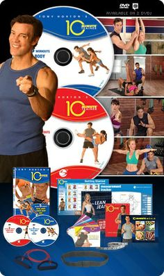 Having trouble finding the time to work out? Turn to Tony Hortons 10-Minute Training system, a series of ultra-efficient workouts designed to tone and trim your body in just 10 minutes per day