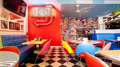 Big Daddy's Diner - kids will love the Oreo pancakes. (Article on family friendly NYC restaurants)