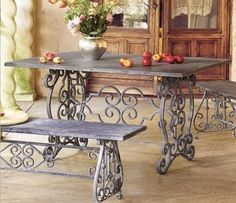 Iron small table