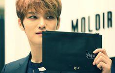 Kim Jaejoong at Moldir Pop-Up Shop At Lotte Department Store in Busan (140321)