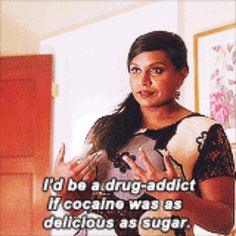 """When Mindy spoke about her one true love: 