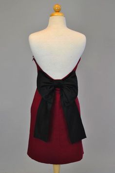 The Paige Gameday Dress {garnet/black} from DressU Boutique