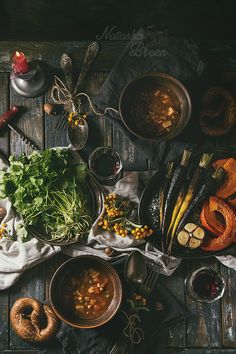 Table setting with soup bowls by Natasha Breen - Photo 229645887 / 500px