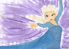 Powerful Elsa by gaarasdarkangeljazz.deviantart.com on @deviantART