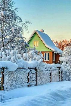 Best photos: Winter and snow Winter Szenen, I Love Winter, Winter Magic, Winter White, Winter Christmas, Christmas Images, Christmas Morning, Merry Christmas, Snowy Day