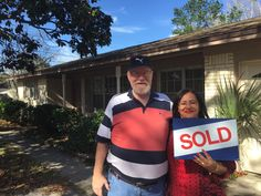 New home buyer Larry and Marilene B. newly here from Brazil love their new pool home in Jacksonville, FL.  CONGRATS to Larry and Marilene!