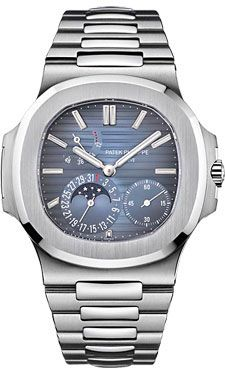 Patek Philippe Nautilus Mens Stainless Steel (Style No: 5712/1A-001) from SwissLuxury.Com