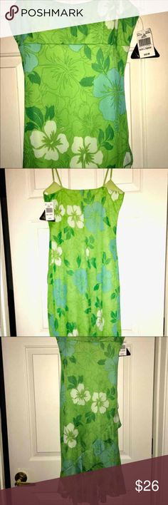 Beautiful Summer Dress Can be worn however you like! Cute Sling back heels or Pretty sandals! It's really pretty, just never wore it. Dresses High Low