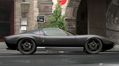 Lamborghini Miura P400 - S01. Right up there with the E-Type as one of the most beautiful cars ever made in my books. Simply stunning in this color.