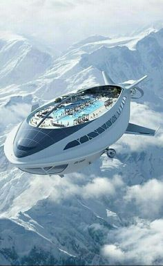 Flying ship cool